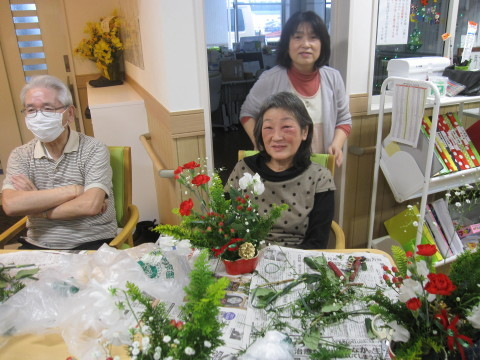 フラワーセラピー・クリスマスアレンジ<七ツの森>
