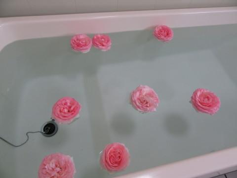 薔薇風呂「七ツの森デイサービス」